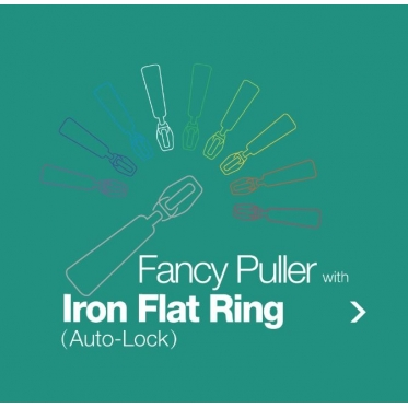 Fancy Puller with Iron Flat Ring (Auto-Lock)